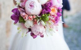 結婚、花束